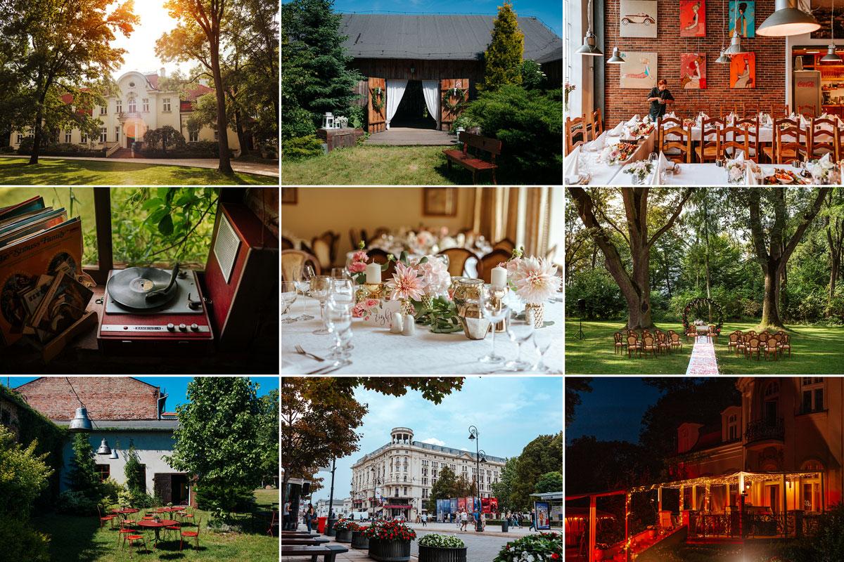 Najpiękniejsze miejsca na wesele i reportaże ślubne w Warszawie i okolicach
